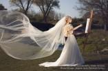 hosszú menyasszonyi fátyol készítés LAURA (2)