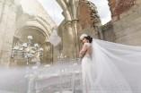 hosszú menyasszonyi fátyol készítés LAURA (6)