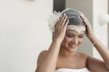menyasszonyi fejdísz