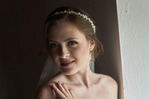 igazgyöngy swaroski fülbevaló menyasszony 61-002 (4)