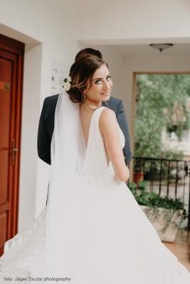 hosszú fátyol készítés Bridal Mirage realbrides
