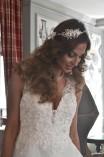 Bohém hajékszer Bridal Mirage