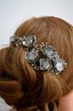 RÓZA - fém hajékszer kollekció (4)