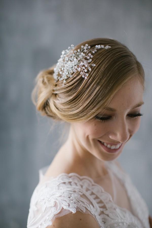 110cabaf3c NOÉMI - menyasszonyi fejdísz • Bridal Mirage - egyedi esküvői kiegészítők