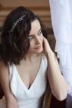 ARLETT esküvői fejdísz, koszorú (2)