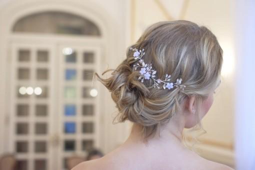 KLOÉ - menyasszonyi hajdísz (1)