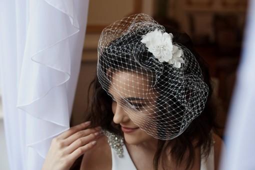 LOTTI - menyasszonyi birdcage fátyol (2)