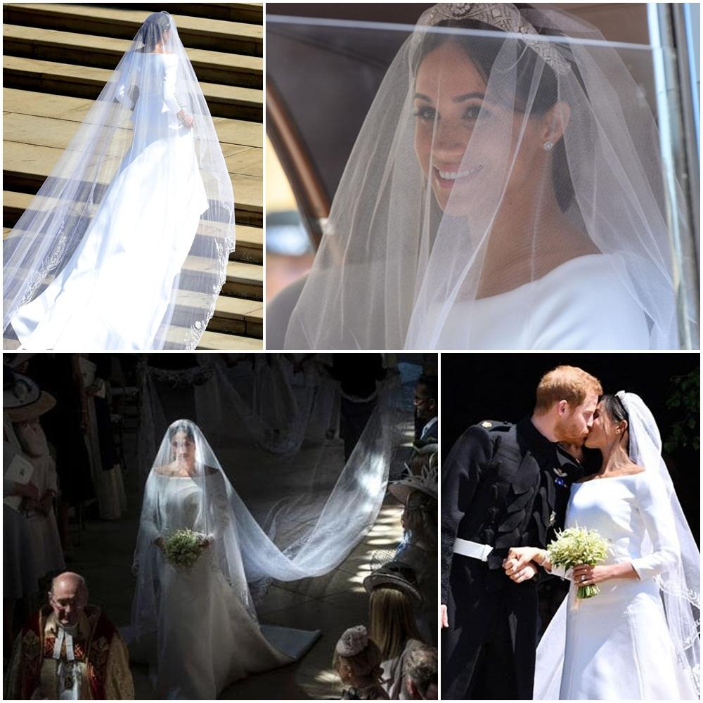 Meghan Markle esküvői fátyol