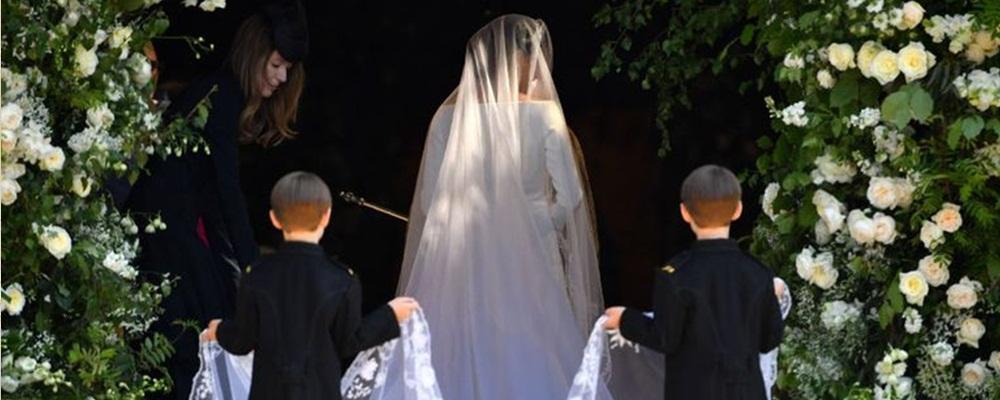 Ms. Markle csodás menyasszonyi fátyla