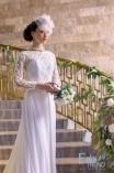 Lizett esküvői fejdísz (2)