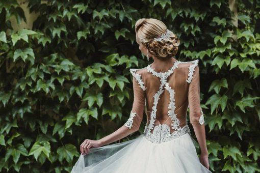 ÁGOTA esküvői hajdísz (2)