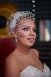 Birdcage fátyol esküvőre - Bridal Mirage (1)
