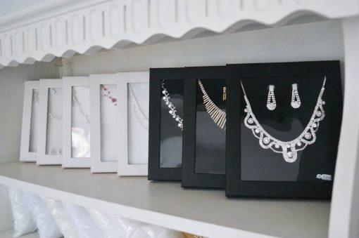 Esküvői strassz ékszerek