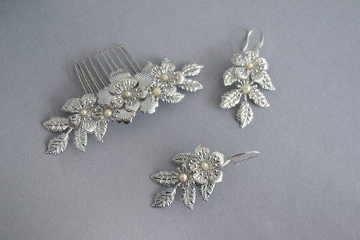 LARA - esküvői hajdísz (1)