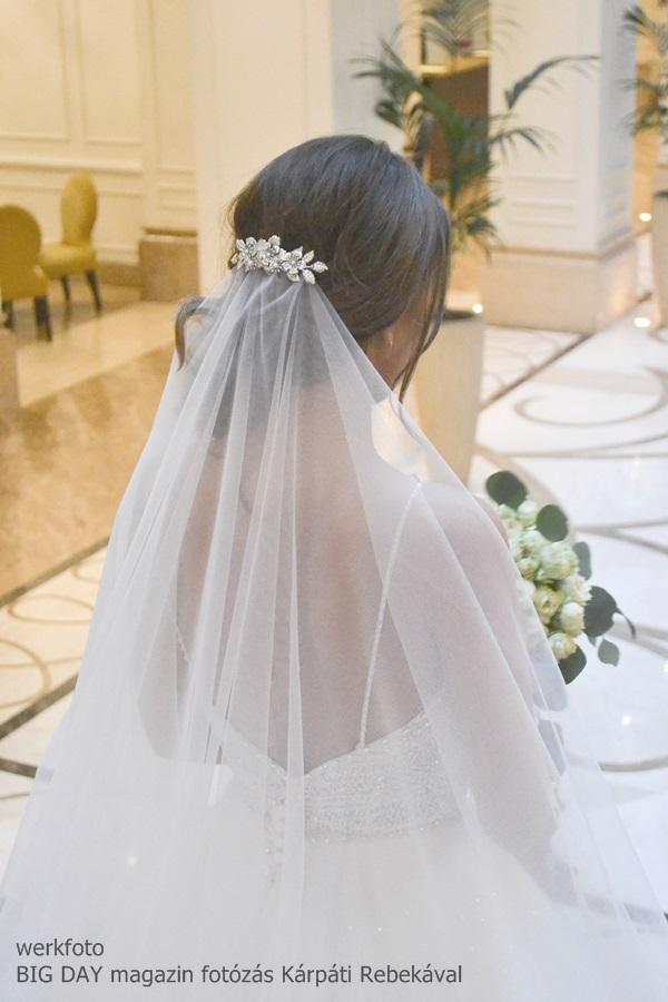 5dd4f65982 LARA - esküvői hajdísz • Bridal Mirage - egyedi esküvői kiegészítők