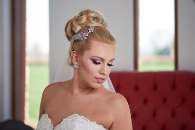 LARA - esküvői kontydísz (1)