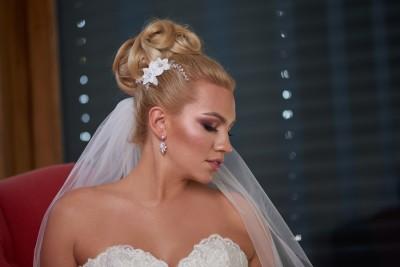 Blandina - menyasszonyi hajdísz (1)