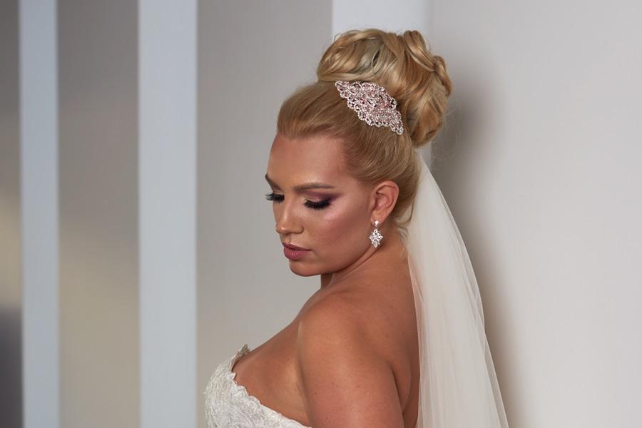 TAMARA - mini esküvői hajdísz • Bridal Mirage - egyedi esküvői ... b0007d51ee