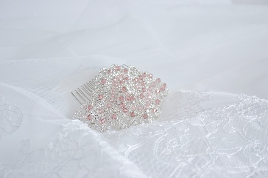 2f9d5941ba TAMARA - mini esküvői hajdísz • Bridal Mirage - egyedi esküvői ...