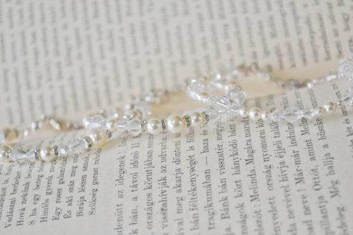 menyasszonyi karkötő swarovski gyöngyből (1)