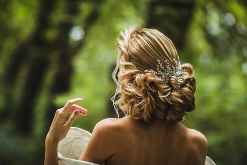 Esküvői hajékszer - swarovski gyöngyökből készítettem (6)