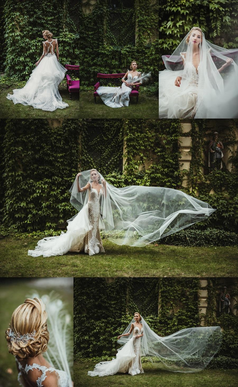 esküvői hajdísz tervezés - Bridal Mirage