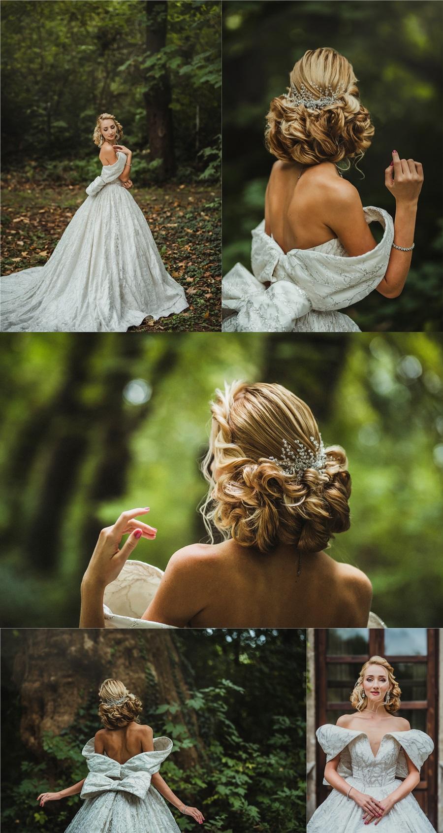 esküvői hajdísz tervezés - Mindák Viki Designer