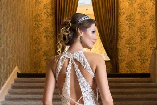 Darla dupklasoros menyasszonyi fejpánt (1)