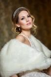 Darla dupklasoros menyasszonyi fejpánt (3)