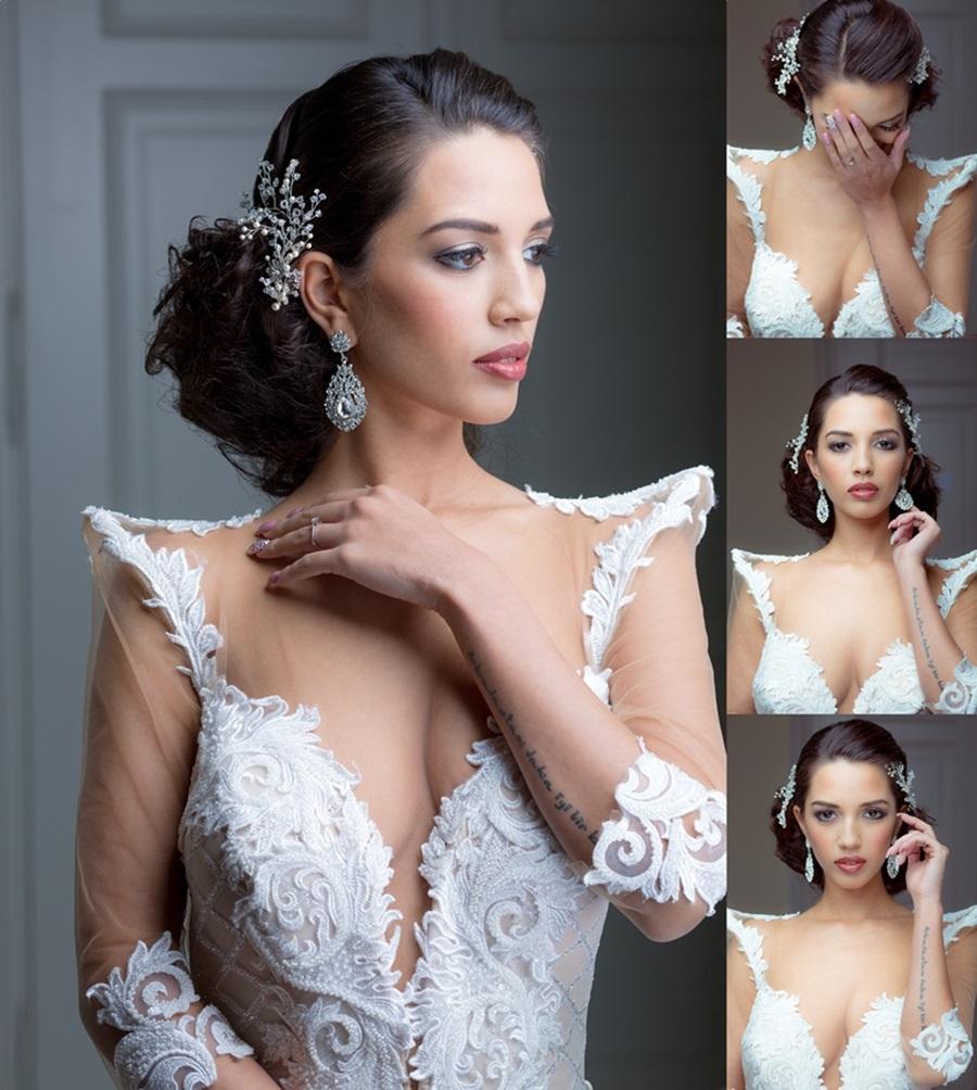 Esküvői fejdísz - Varga Alexandra fotózás (2)