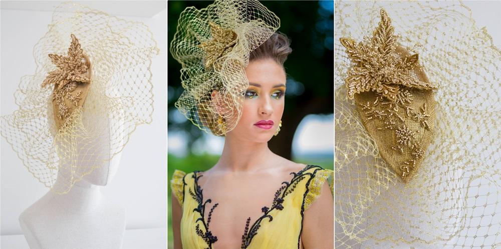 kalap készítés - arany
