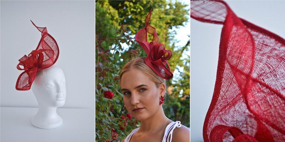 kalap készítés - piros